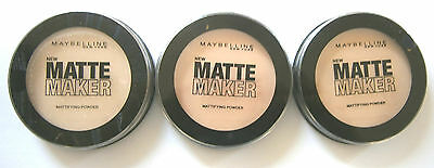 MAYBELLINE MATTE MAKER MATTIFYING POWDER 16g - VARIOUS USE DROP DOWN MENU