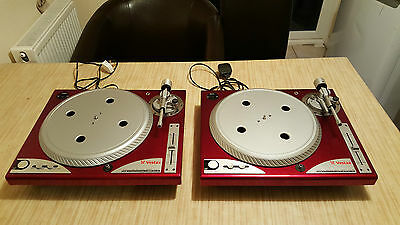 Pair Vestax PDX a1S Limited Edition Red