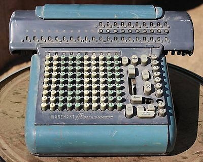 Vintage MARCHANT Adding Machine Calculator Model SD 1940 1950 model