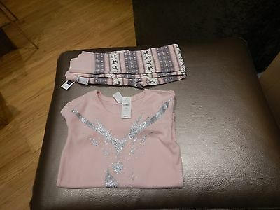 New Girls Gap Two Piece Legging And Top 10-11