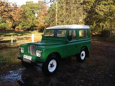 Land Rover 1979 Series 3 200tdi SWB 88in