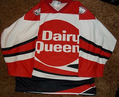 Indianapolis Ice Dairy Queen Specialty Jersey XXL NWT