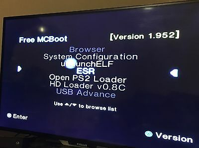 Free McBoot Multi Version FMCB v1.952 PlayStation 2 PS2 Memory Card 8MB