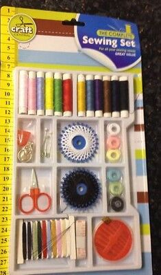Sewing Kit With Accessory Set Incluse Threads, Needles And More -Free Delivery