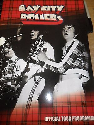 Les Mckeown Official Bay City Rollers Reunion  2015/16 Tour Programme