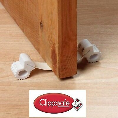 Clippasafe Under Door Gripper - Child Safety Door Stop