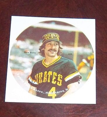 Dale Berra Pittsburgh Pirates 1978 player photo Baseball # 2