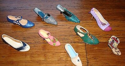 Lot Of Just The Right Shoe Decorative Shoes