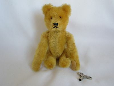 Rare Schuco Tumbling Bear with Schuco Key Works a Little