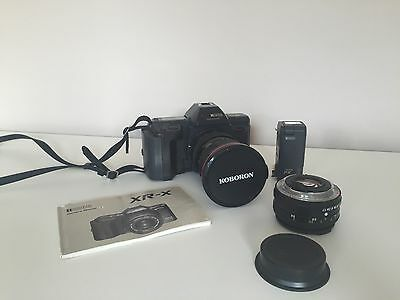 RICOH XR-X Speed Lite Flash Attachment & KOBORON 24-70 MM Lens Marco With Manual