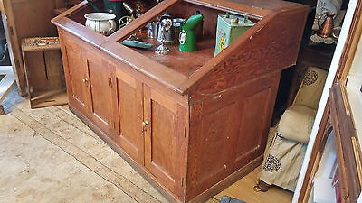 Old Shop Counter Display Cabinet