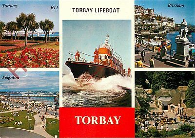 Postcard: TORQUAY LIFEBOAT (MULTIVIEW) TORBAY