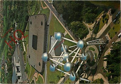 Postcard: Brussels, Atomium, Stamped Reverse, Aerial View