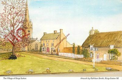 Postcard: Kings Sutton, By Kathleen Smith WI [Judges]