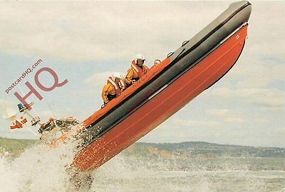 """Postcard: RNLI Teignmouth Atlantic 21 Class Lifeboat """"The Frank And Dorothy"""""""