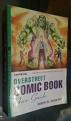 """Overstreet"" Comic Book Price Guide (34th Edition)"