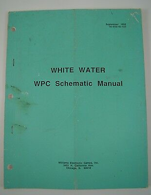 White Water Schematics Pinball Manual Solid State