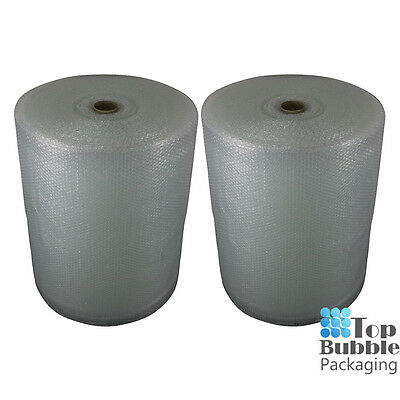 Bubble Wrap 750mm x 100m 2 Rolls FREE SHIPPING SYDNEY ONLY Clear 10mm Air Bubble