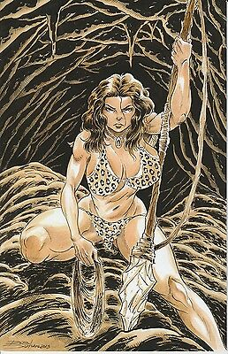 Cavewoman Sea Monsters Durham Special Edition B Variant certificate limit 425