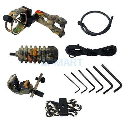 Archery Accessories 5-pin Bow/ Peep Sight, Arrow Rest, Stabilizer, Bow Sling