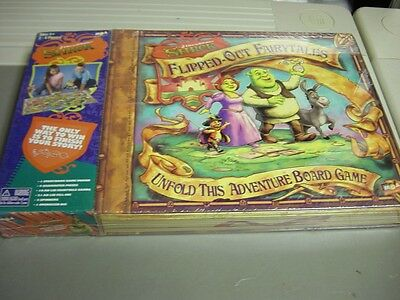 Shrek ~ Flipped-Out Fairytales Board Game New