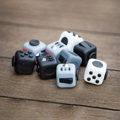 Fidget Cube Toy Stress Relief Focus For Adults, Children 6+, ADHD & AUTISM!! NEW