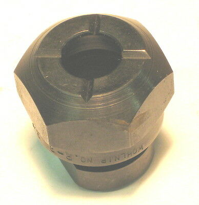 "New WOHLNIP R-3 Mill Tool Holder MASTER Collet Tap Chuck 3/8 - 1/2"" Capacity"