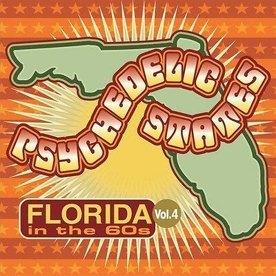 Various Artists - Psychedelic States - Florida in the 60S 4 [New CD]