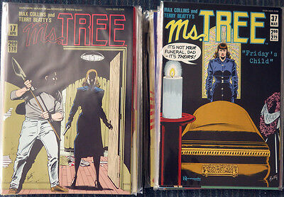 Ms. Tree #10, 11, 13-50 plus 2 specials - Max Collins Terry Beatty  High Grade!