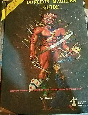 Dungeon Masters Guide AD&D Dungeons & Dragons Revised Edition 1979 DM TSR