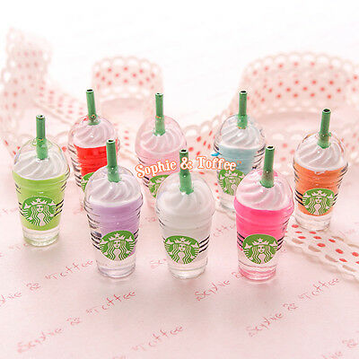 Miniature Frappuccino Charm - 9 pieces