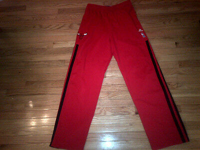 Marquis Teague Chicago Bulls NBA Adidas 2013-14 Game Used Warm Up Pants