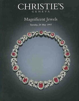 Christie's Magnificent Jewels, 5/20/97 Sale Code  1230 HAMMER PRICES INSIDE