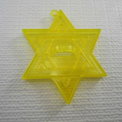 AMSCAN Yellow Plastic Cookie Cutter - STAR OF DAVID