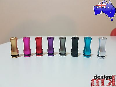 510 Drip Tip Mouthpiece Colorful Metal Aluminium Local Stock FREE SHIPPING