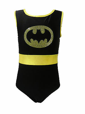 Batgirl Gymnastics Leotards