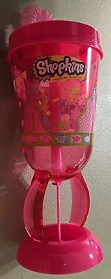 Shopkins Drinking Cup With Straw