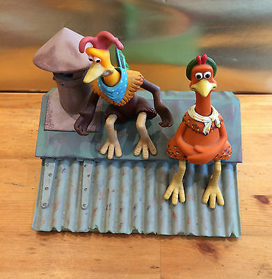 Vintage Collectible Chicken Run Ginger & Rocky message mate wesco