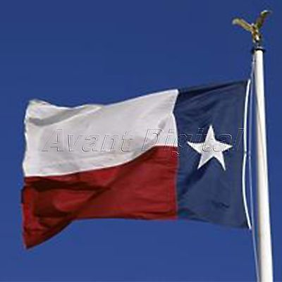 3*5 ft America Texas State Flags Grommets Lone Star Hanging Banner Polyester New