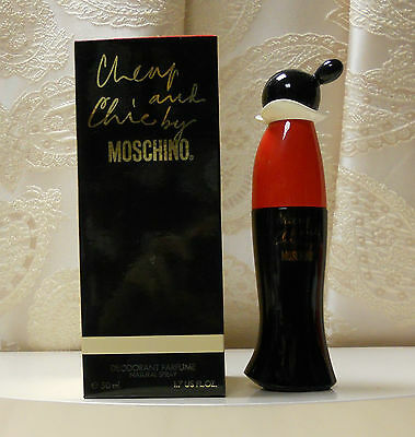 "DEODORANTE PROFUMATO ""CHEAP AND CHIC by MOSCHINO"" NATURAL SPRAY 50 ML."