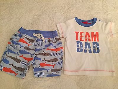 Sprout Baby Boy Bathers