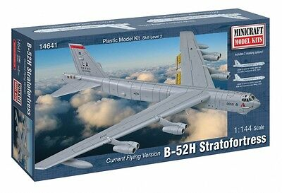 Minicraft - Plane B52 H USAF Plastic model [14641] GALAXY RC