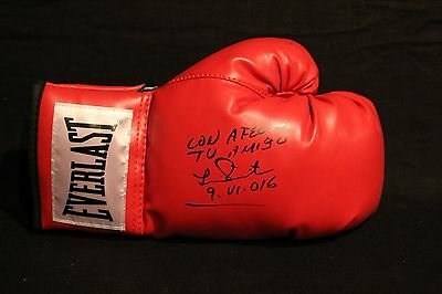 Lupe Pintor Mexican Bantamweight Champ Autographed Signed Everlast Boxing Glove