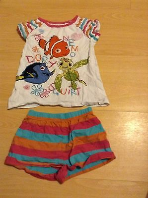 (4A) girls age 2-3 disney store finding nemo outfit