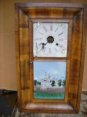Antique American Wall Clock.