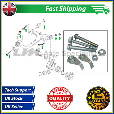 Land Rover Discovery 3 Rear Upper Suspension Arm Fitting Kit (bolts + washers)