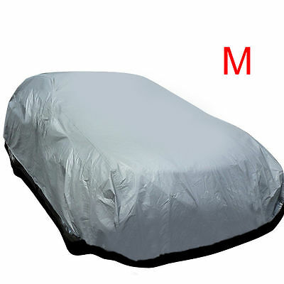 Universal Medium Size M Full Car Cover UV Protection Waterproof Breathable New