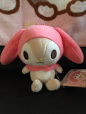 LITTLE FOREST FELLOW MY MELODY SANRIO plush doll WITH KEYCHAIN