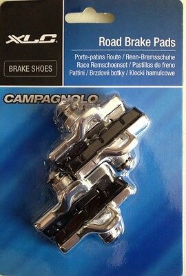 XLC Road Brake Shoes / Blocks CAMPAGNOLO TYPE - Silver - BS-R07S