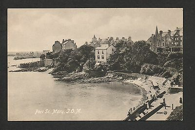 Port St. Mary - printed postcard